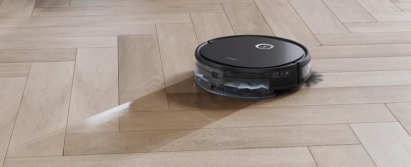 Robot U2 Pro với chức năng quét, hút lau đồng thoeif